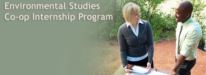 Environmental Studies Co-op Internship Program